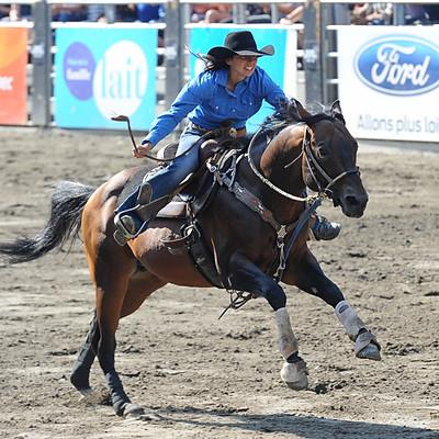 FWST au Québec : cowgirls