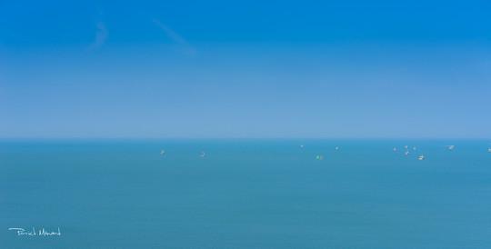 Port d'Erquy : pêche à la coquille