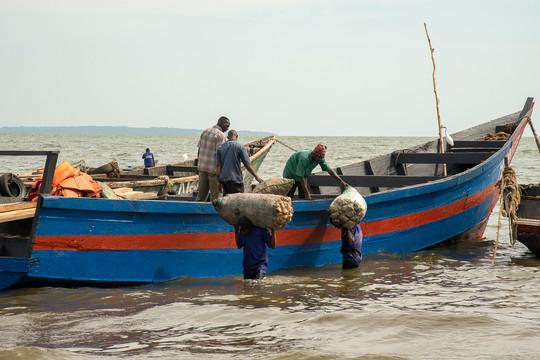 Ouganda - lac Victoria
