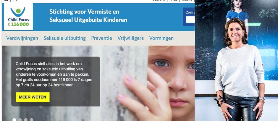 15 Mei:  Een blik achter de schermen van Child Focus door Heidi De Pauw