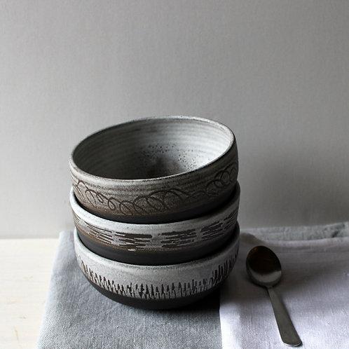 Wabi-Sabi Ceramic Bowls