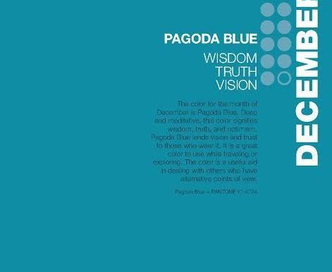 #colourofthemonth: Pagoda Blue