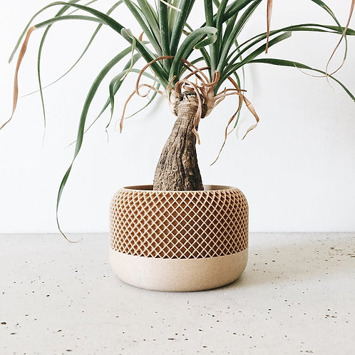 Recycled Wood Indoor Planter