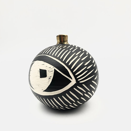 Ceramic Eye Vase