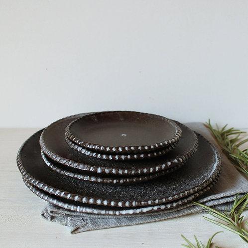 Wabi-Sabi Ceramic Small Plates