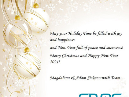 Best Christmas wishes from our Team!