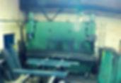 steel power press or break press for fabrications