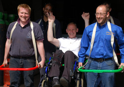The all terraine wheelchair frame