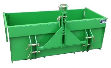 PF Agri Big Door Transport Box Back