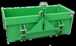 PF Agri Big Door Transport Box Back