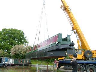 Price Fallows Narrowboat shell