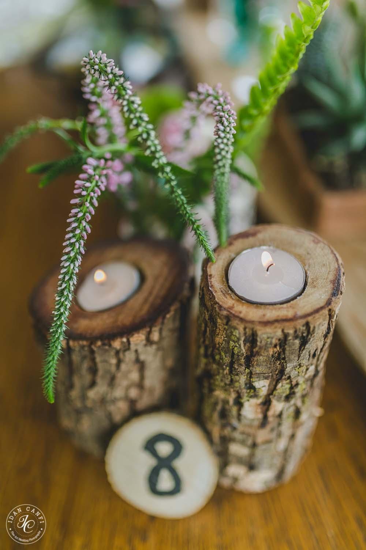 פמוטי עץ ומספר