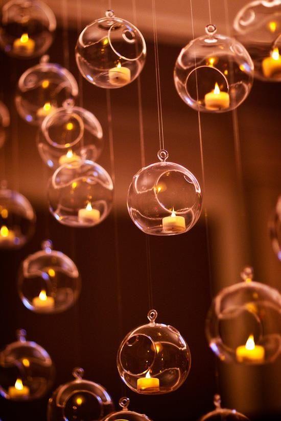 כדורי זכוכית לתלייה