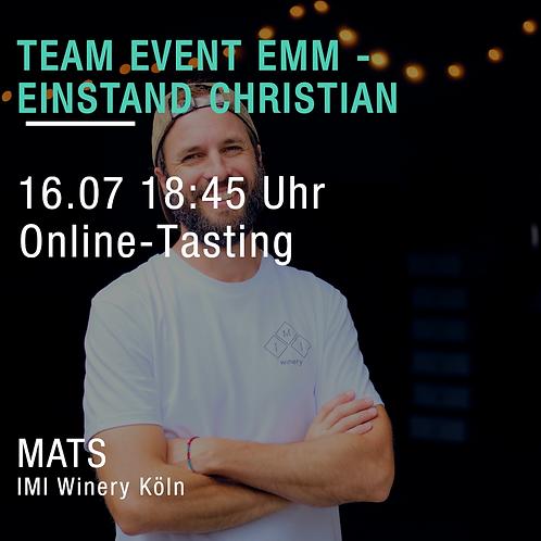 EMM Team-Tasting