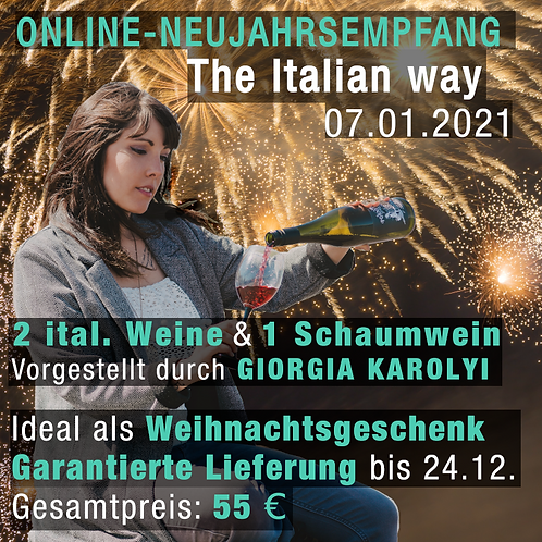 Neujahrsempfang - The Italian way