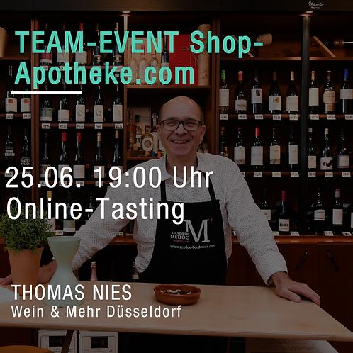 Team-Event Shop Apotheke