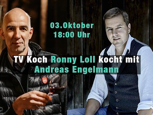 TV Koch Ronny Loll kocht mit Andreas Engelmann
