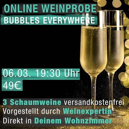 Bubbles & Schaum mit Giorgia Karolyi
