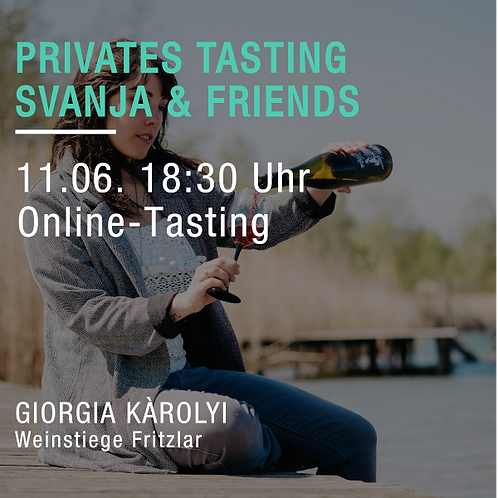 Privat-Tasting Svanja Kleemann