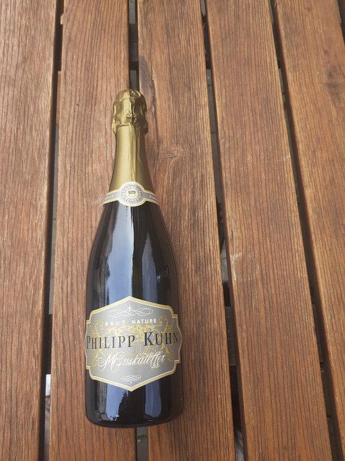 Philipp Kuhn Muskateller Traditioneller Flaschengärsekt