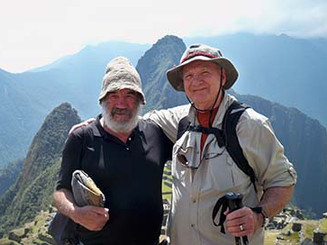 NEW Jerry Photo with Shaman, Machu Picch