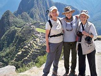 Peru, Machu Picchu, Hariett, Connie, Mar