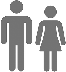 Washroom Sign of Man and Woman.png