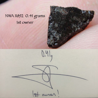 NWA 11892  0.41 grams