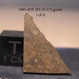 NWA 8791 (R3-5) 0.71 grams