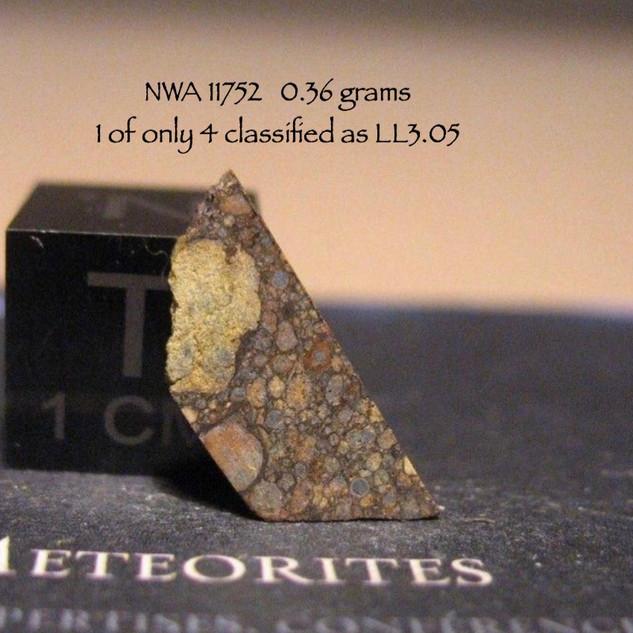 NWA 11752 LL3.05  0.36 grams