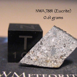 NWA 7881 (HED-Eucrite) 0.61 grams