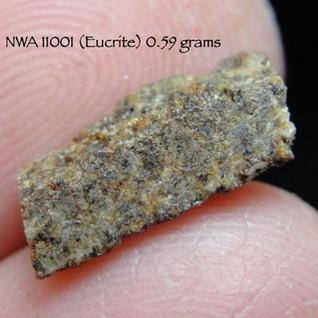 NWA 11001 (Eucrite) 0.59 grams