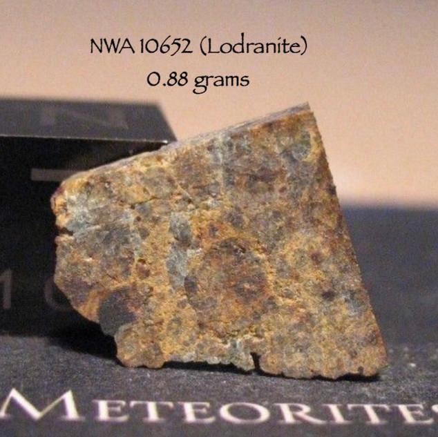 NWA 10652 (Lodranite) 0.88 grams