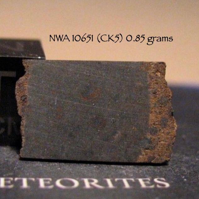 NWA 10651 (CK5) 0.85 grams