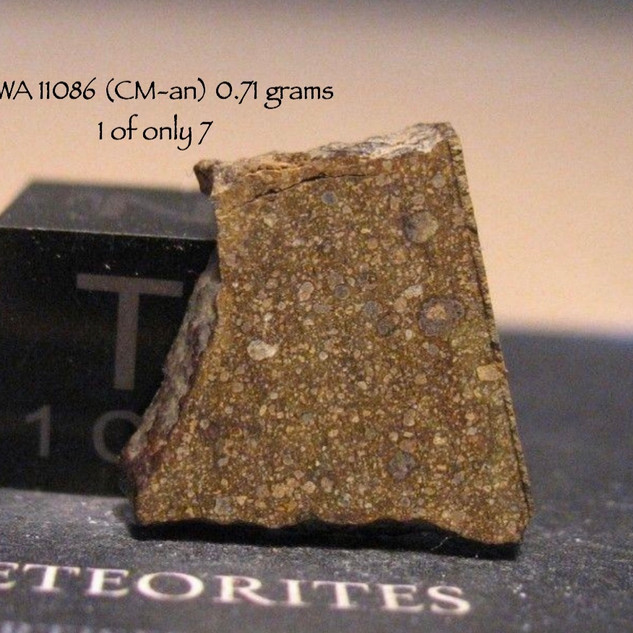 NWA 11086 (CM-an) 0.71 grams