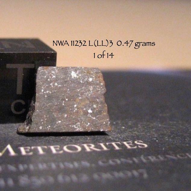 NWA 11232 L(LL)3  0.47 grams