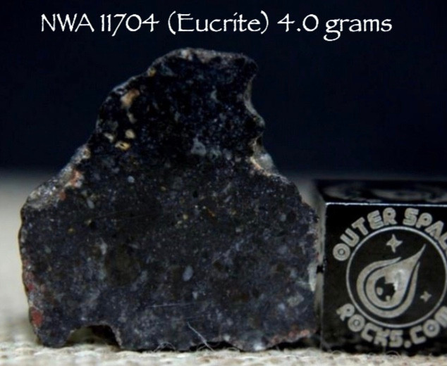 NWA 11704 (Eucrite) 4.0 grams