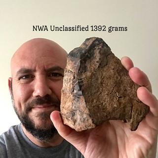 Unclassified NWA Meteorite1392 grams