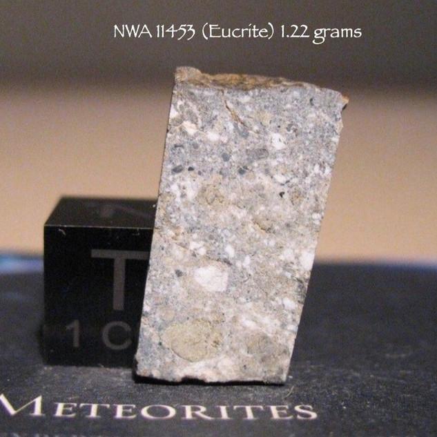 NWA 11453 (Eucrite) 1.22 grams