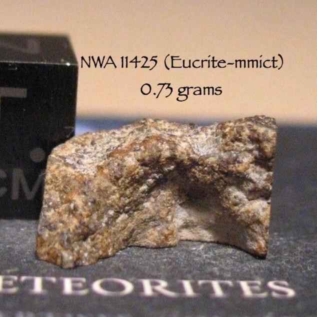 NWA 11425 (Eucrite) 0.73 grams