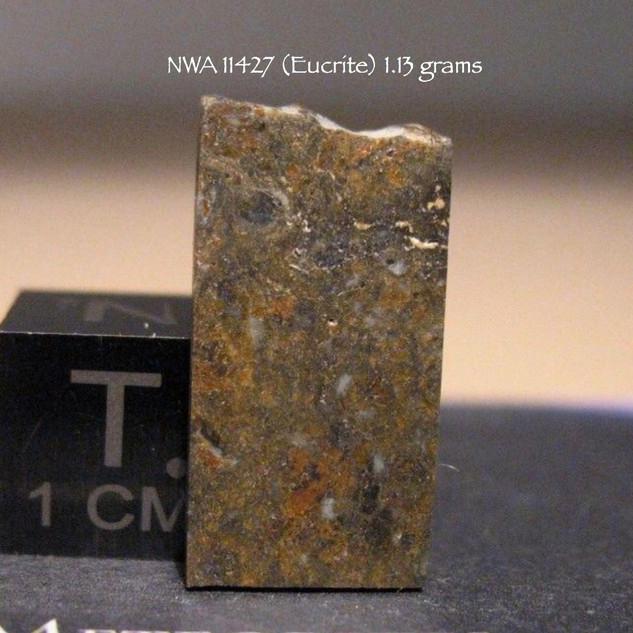 NWA 11427 (Eucrite) 1.13 grams