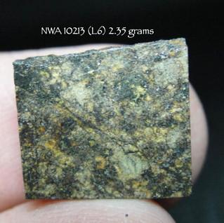 NWA 10213 (L6) 2.35 grams