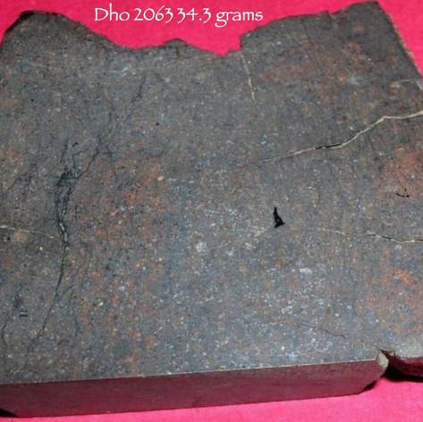 Dho 2063 meteorite 34.3 gram