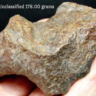 NWA Meteorite 178.00 grams