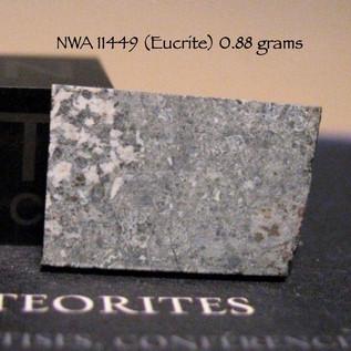 NWA 11449 (Eucrite) 0.88 grams