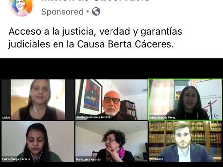 FORO: Acceso a justicia, verdad y garantías judiciales