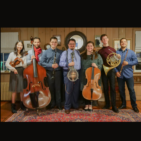 Music by Taylor Ackley and the Deep Roots Ensemble