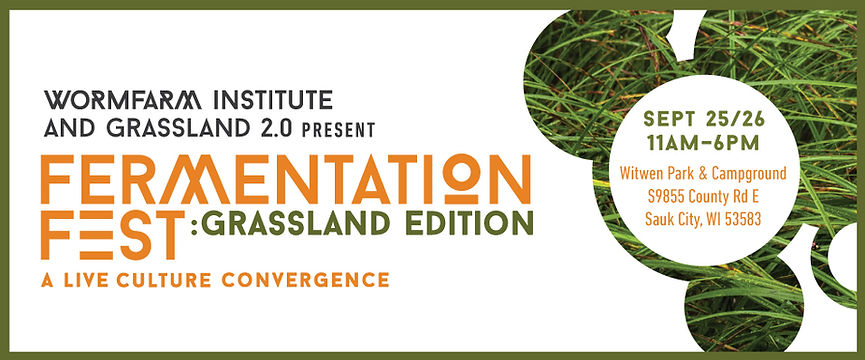 Fermentation Fest: Grassland Edition Banner