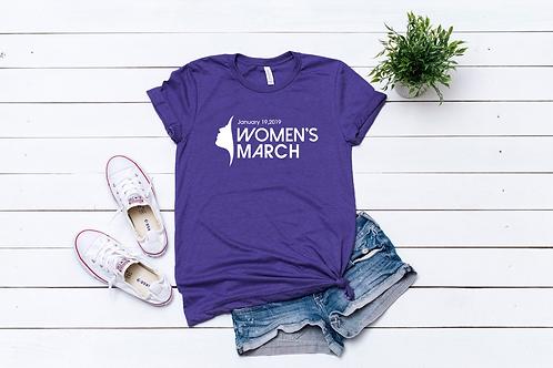 Women's March Short Sleeve T-Shirt