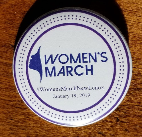 WMNL Button - Women's March (Circle)